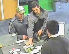 brazen bank robber